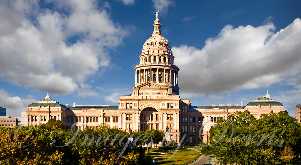The Texas State Capital Building