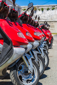 the dockyard moped fleet