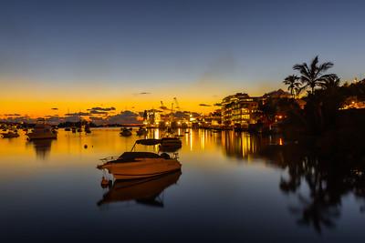 hamilton harbour sunset
