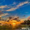 stovell bay sunset