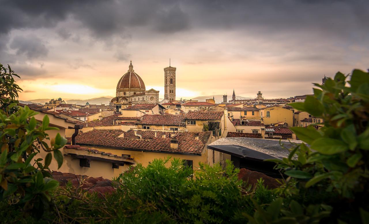 Il Duomo Before the Rain