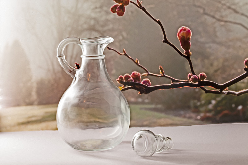 Bottle on Sill