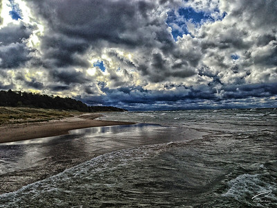 Lake Michigan Storm