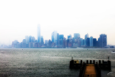 Foggy Manhattan Morning