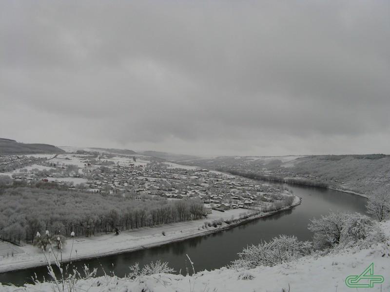 Заліщики 2010, березень, 27. Звичайний весняний сніг