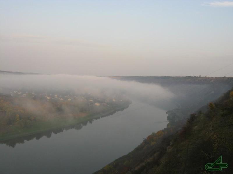 Заліщики 2008, жовтень, 15.  Осінь. І це ще не туман.