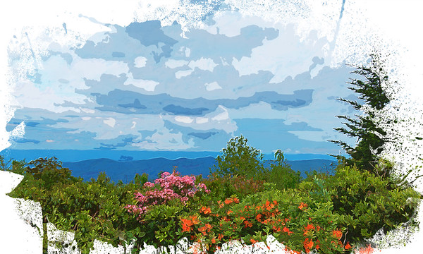 Blue Ridge Landscape