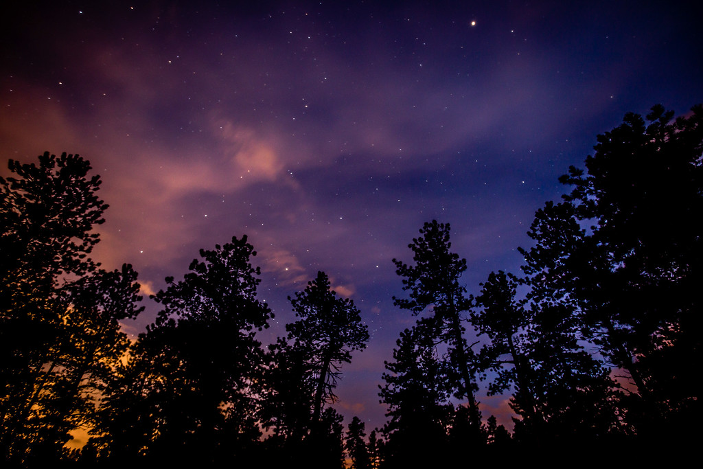 Mountain Nightscape - Woodland Park, CO