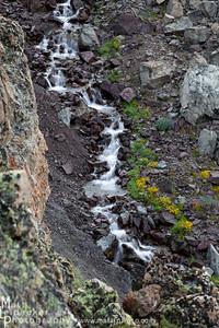 The barren cascade - Boulder Mountains