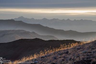 Sunrise on Herd Peak - Boulder Mountains