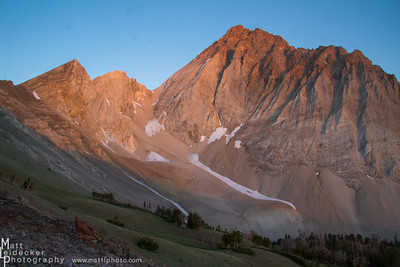 Castle Divide Sunrise - White Cloud Mountains