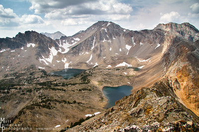 Gunsight Basin - White Cloud Mountains
