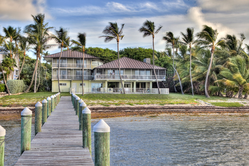 Islamorada oceanfront estate.