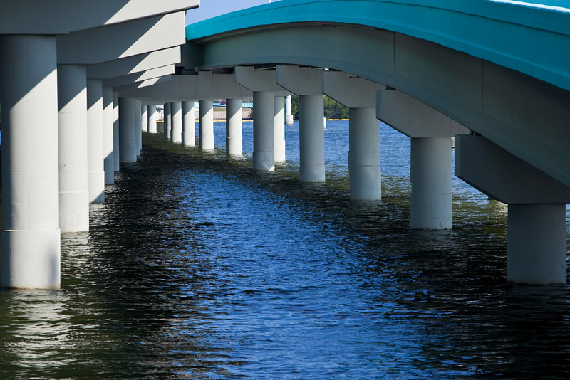 Sweeping Jewfish Creek Bridge