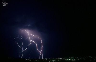 Lightning over Denver