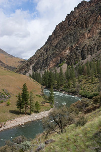 A view of Driftwood Rapid from the river trail.
