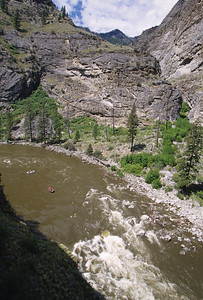 An interesting perspective of Wall Creek (Porcupine) rapid.