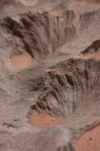 Erosion detail.