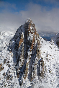The South Face/Ridge of Warbonnet Spire.