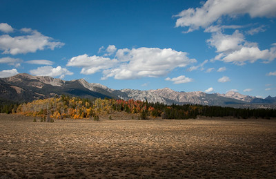 Fall colors at the mouth of Alturas Lake Canyon