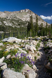Payette Peak from the Hidden Lake Trail