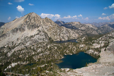 Everly Lake, Peak and Plummer Lake.