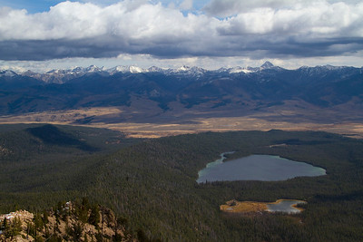 Yellow Belly Lake from Imogene Peak
