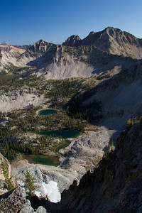 Snowyside Peak and a handful of Flytrip Lakes.
