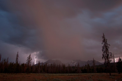 Lightning Storm above Iron Creek