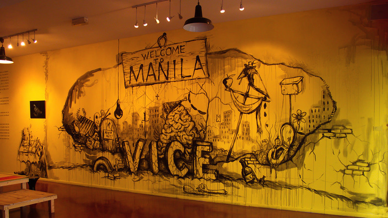 Manuel Ocampo - Welcome to Manila Vice