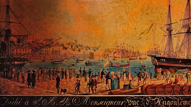 Antoine ROUX - Port de Cette 1828