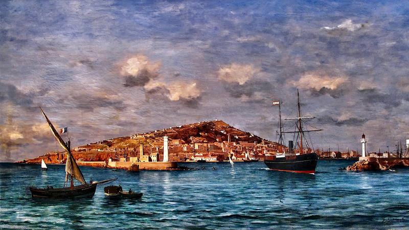 Robert MOLS - Port de Cette 1891