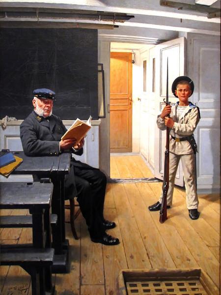 Toussaint ROUSSY - A Bord de l'Hérault