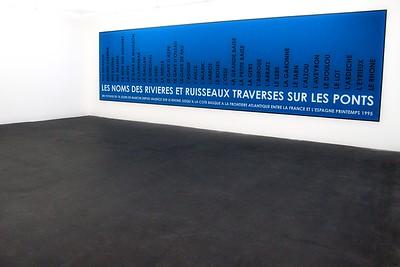 Les Noms Des Rivières et Ruisseaux Traversés Sur Les Ponts, 1995 (France/Spain)