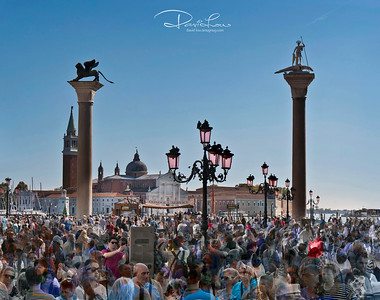 St. Mark's Square - An arty of people