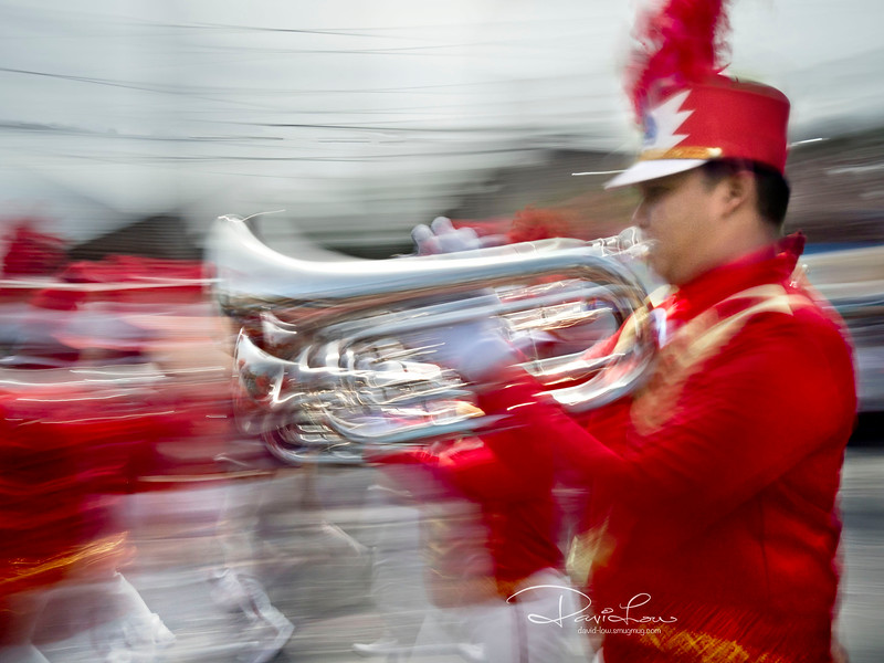 """I conjured up some creative motion in the following """"procession"""" pictures instead of an otherwise normal straight forward postcard pictures. I'm quite satisfied with the results."""