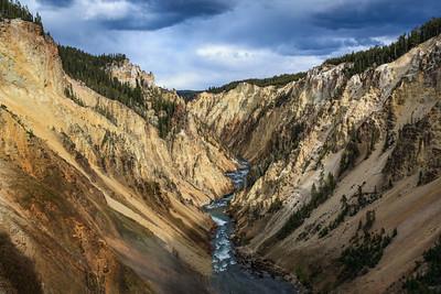 Yellowstone Canyon Storm
