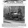 "Cover of Issue 90, The Mountain State Railroad and Logging Historical Association's ""The Log Train"" publication."