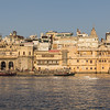 Part of the Udaipur Skyline at Sunset