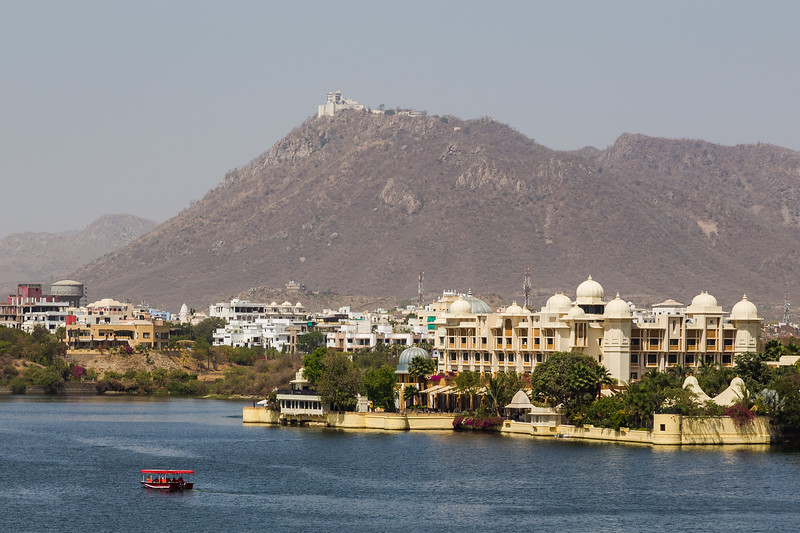 Leela Palace and Monsoon Palace in Udaipur