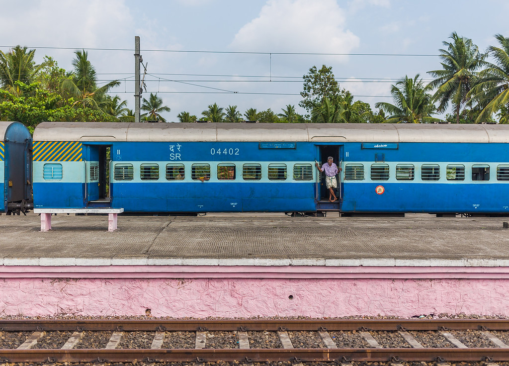 India Trains and People