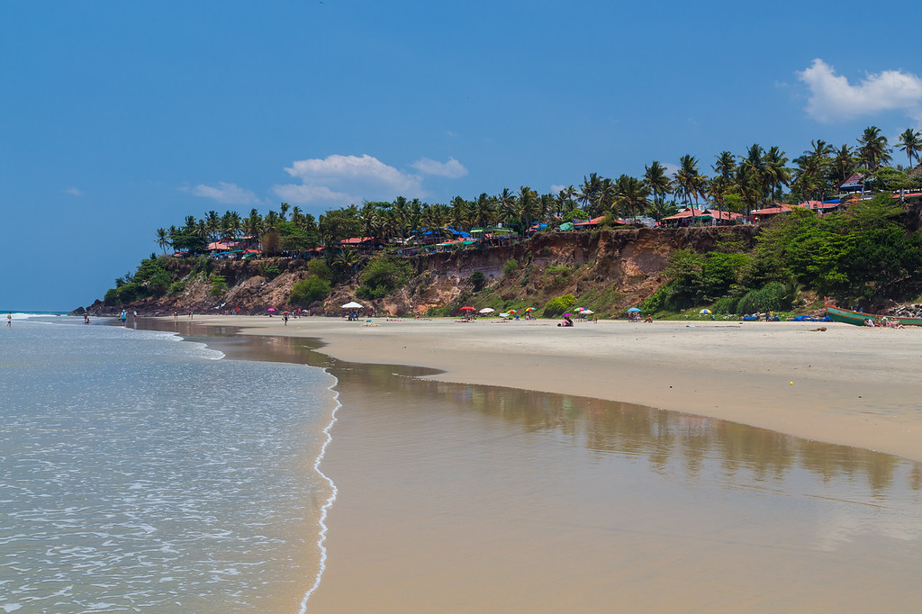 Varkala Beach in South India
