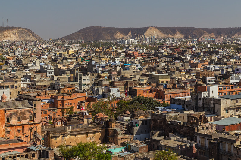 Jaipur Skyline during the day