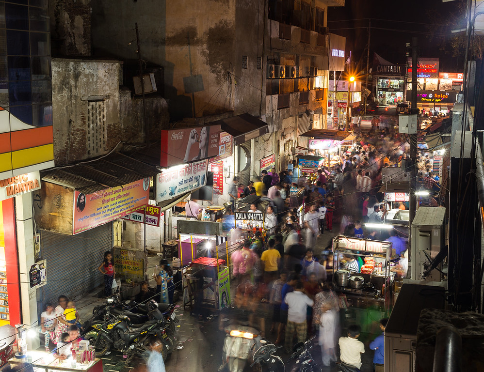 Night Markets in Agra, Uttar Pradesh