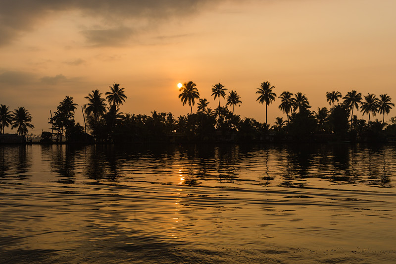 Sunrise in South India