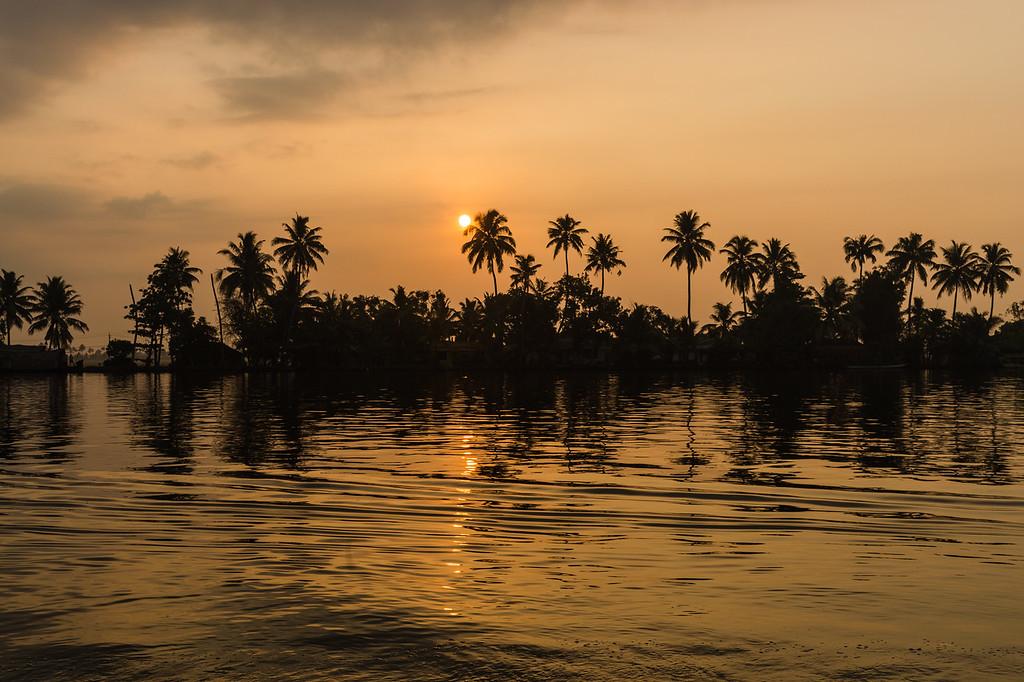 Sunrise in South India