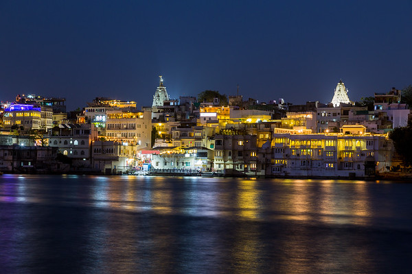 Udaipur Skyline at Night