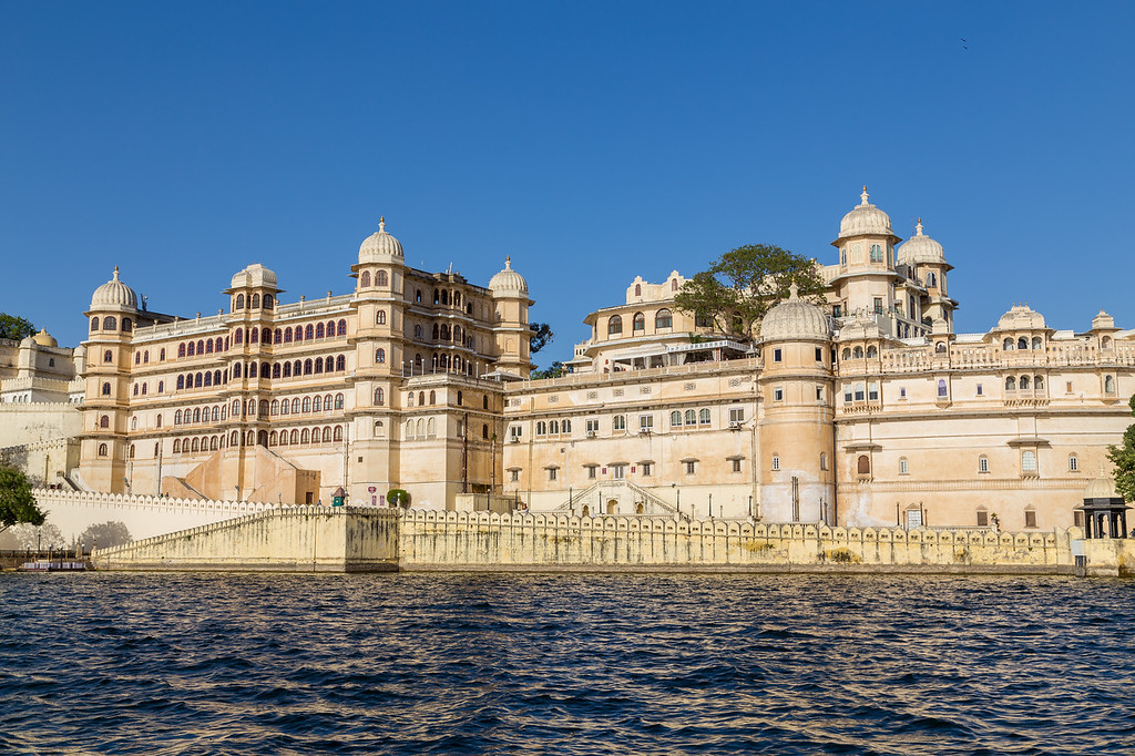 Part of the Udaipur City Palace