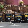 Tuk Tuk Rickshaws in Jaipur, India