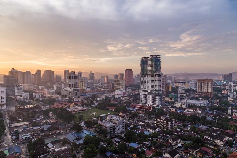 Part of the Kuala Lumpur Skyline